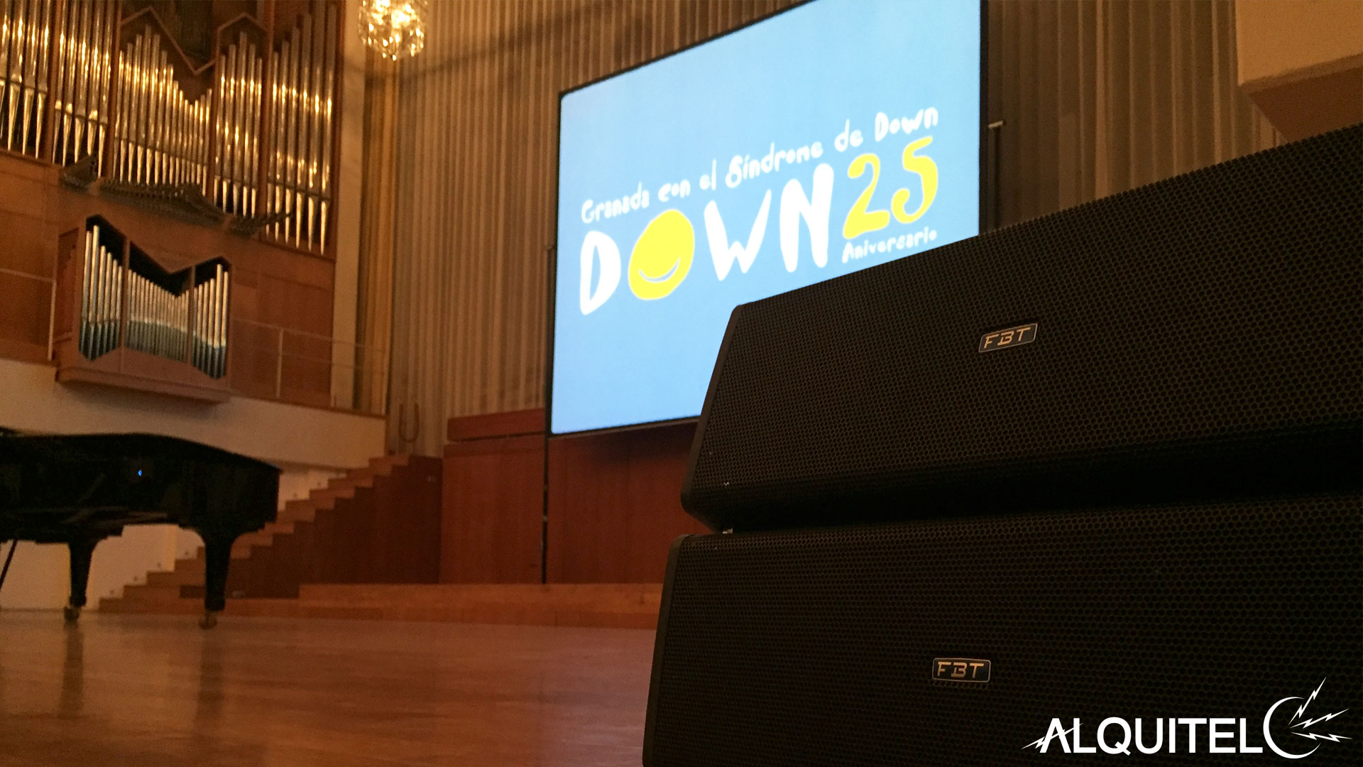 Gala 25º Aniversario Síndrome Down Granada