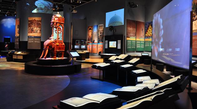 Equipo audiovisual para museos y exposiciones
