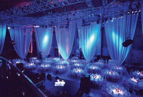 La iluminación ideal para cada evento