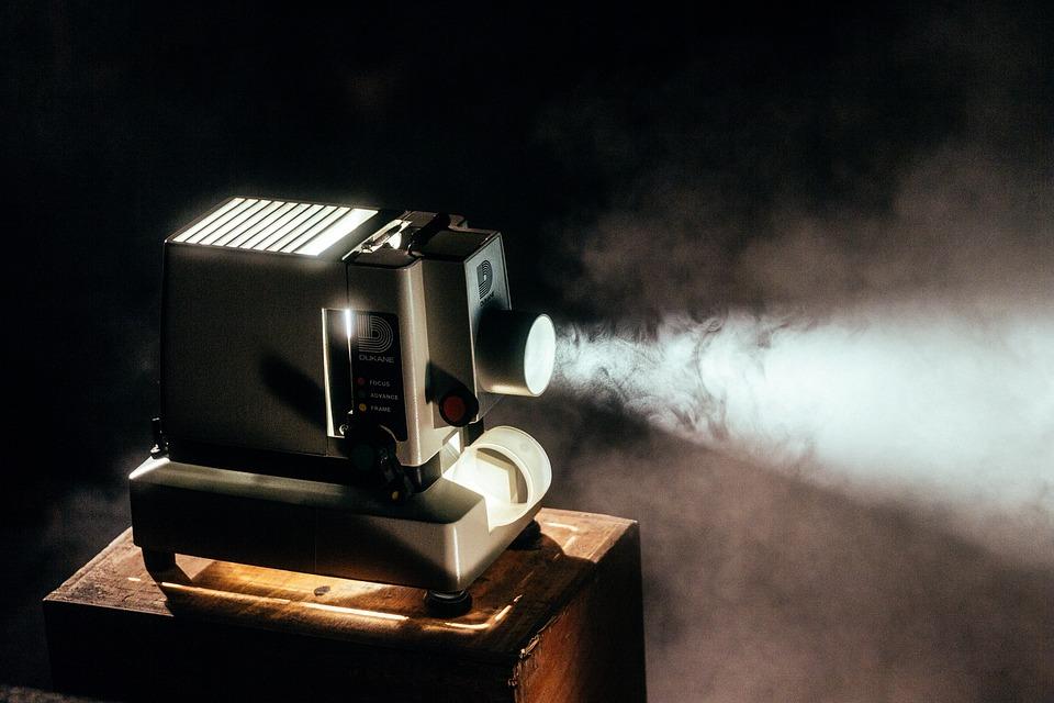 Los lúmenes en un proyector